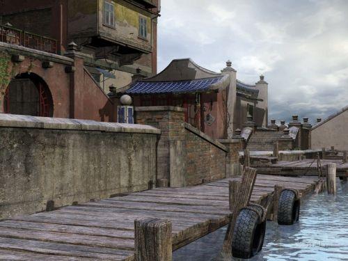 Азиатский город
