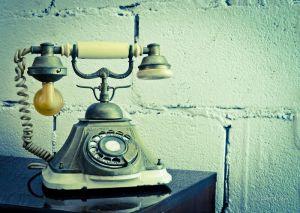Фотокартини Cтарий телефон