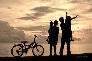 Фотокартины для интерьера Счастливая семья