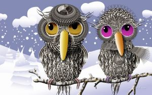 Печатные картины на холсте Птицы