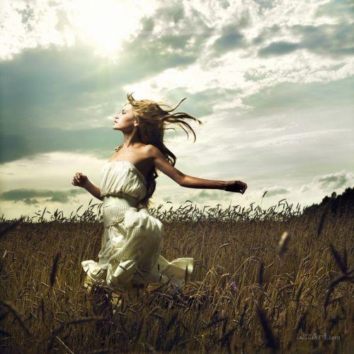 Бег в поле