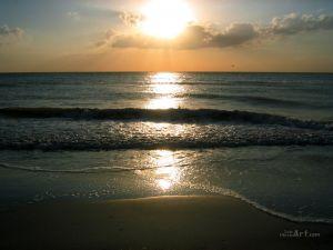 Закат солнца. Флорида