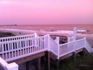Пляж юг. Каролины