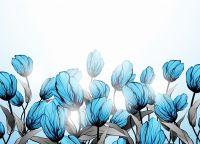 Голубі квіти