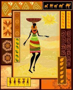 Африканский мотив