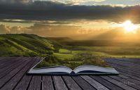 Пейзаж з книжки