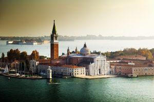 Вид на остров Сан-Джорджио, Венеция, Италия