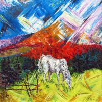 """""""Ой на горі на високі, сивий кінь пасесі..."""""""