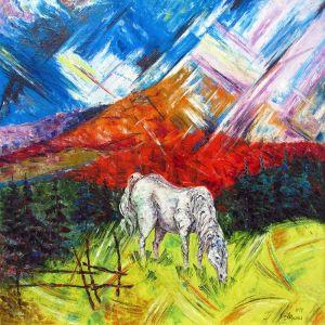 """Федына Роман и Надежда """"Ой на горе высокой, сивый конь пасется ..."""""""