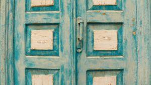 Кононенко Анастасия Старая дверь в Крыму. Бахчисарай