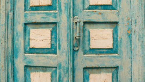 Старая дверь в Крыму. Бахчисарай
