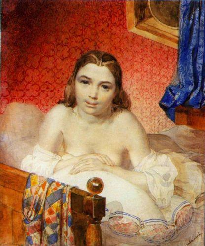 Женщина в постели - изображение 1