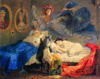 Сон бабушки и внучки