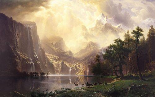 Среди гор Сьерра-Невада