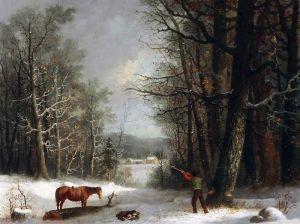 Дуррие Джордж Генри Лесной житель зимой