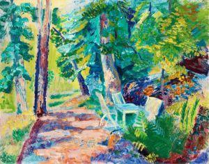 Экспрессионизм Садовая дорожка