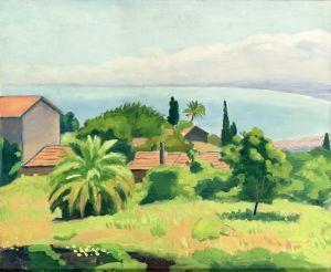 Марке Альбер Мартиника в Алжире