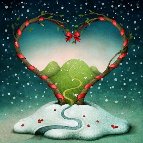 В сердце