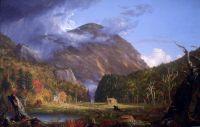 Вид на перевал Нотч Белых гор