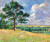 Пейзаж перед Мервиль