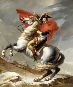 Наполеон при переходе через Сен-Бернар
