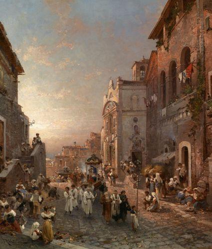 Процессия в Неаполе