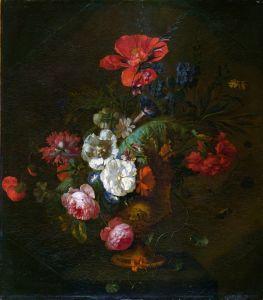 Хейсум Ян ван Цветы в каменной вазе