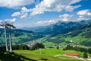 Хороший вид из Тироль, Австрия