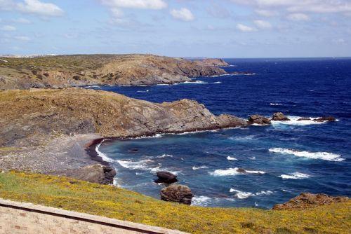 Менорка Балеарского острова в Испании