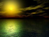 Дощ на захід сонця