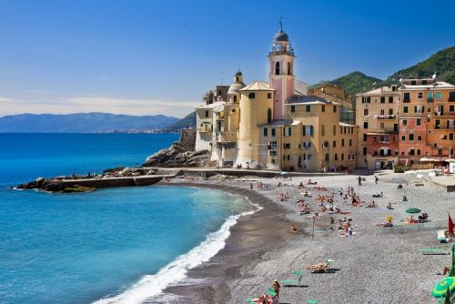 Лигурийское побережья. Италия