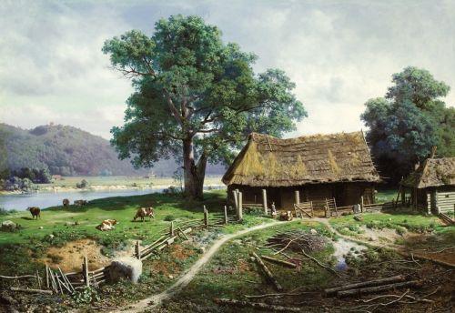 Вид на острове Валааме