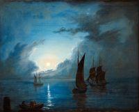 Море при лунном свете