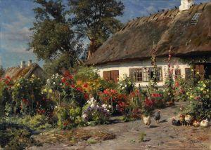 Менстед Петер Дом в саду с курицами
