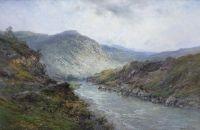A Perthshire river Near Callender