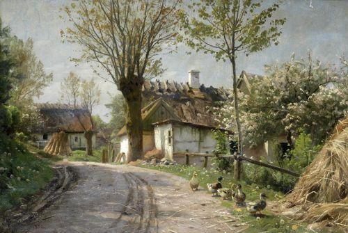 Деревенская улица