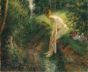 Піссарро Каміль Купання в лісі