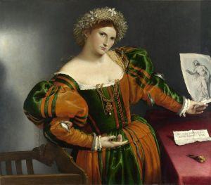 Лотто Лоренцо Женский портрет