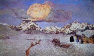 Символизм Альпийский триптих, Смерть