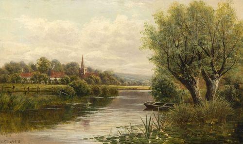 Валлійський краєвид річки