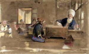 Льюис Джон Фредерик Арабская школа