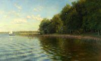 На берегу озера