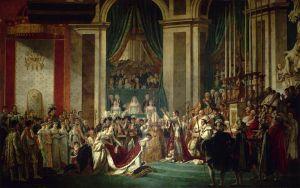 Давид Жак-Луи Освящение императора Наполеона и коронации императрицы Жозефины Папой Пием VII
