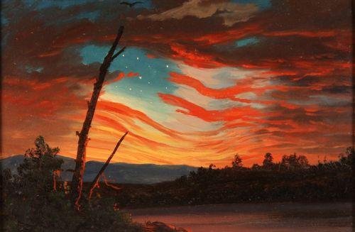Наш флаг в небе