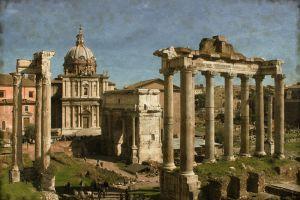 Фотокартины для интерьера Римский форум