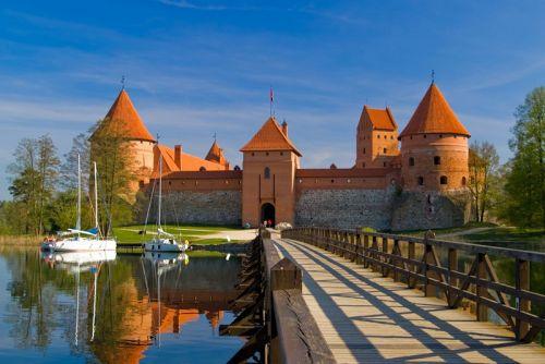 Тракайський замок в Литві
