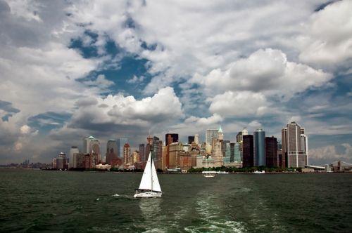Нью-Йорк панорама города