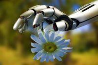 Робот и цветок