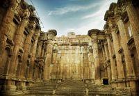 Старый римский храм в Баальбеке, Ливан