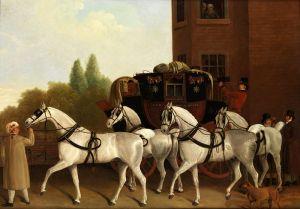Агас Жак-Лоран Королевская почта Лондона и Эдинбурга
